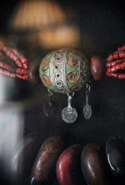 African Necklace Detail