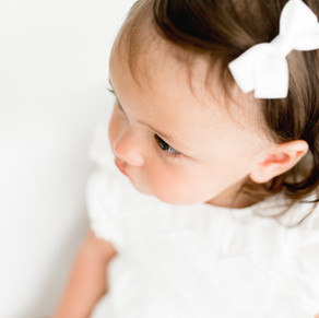 First birthday milestone session | Ivory White Photography