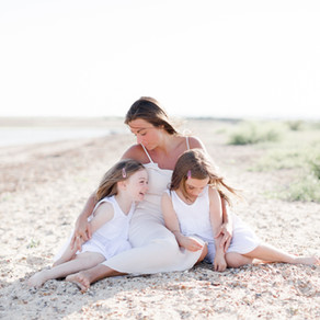 Sweet family beach session | Essex
