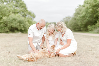 family woodland outdoor photographer