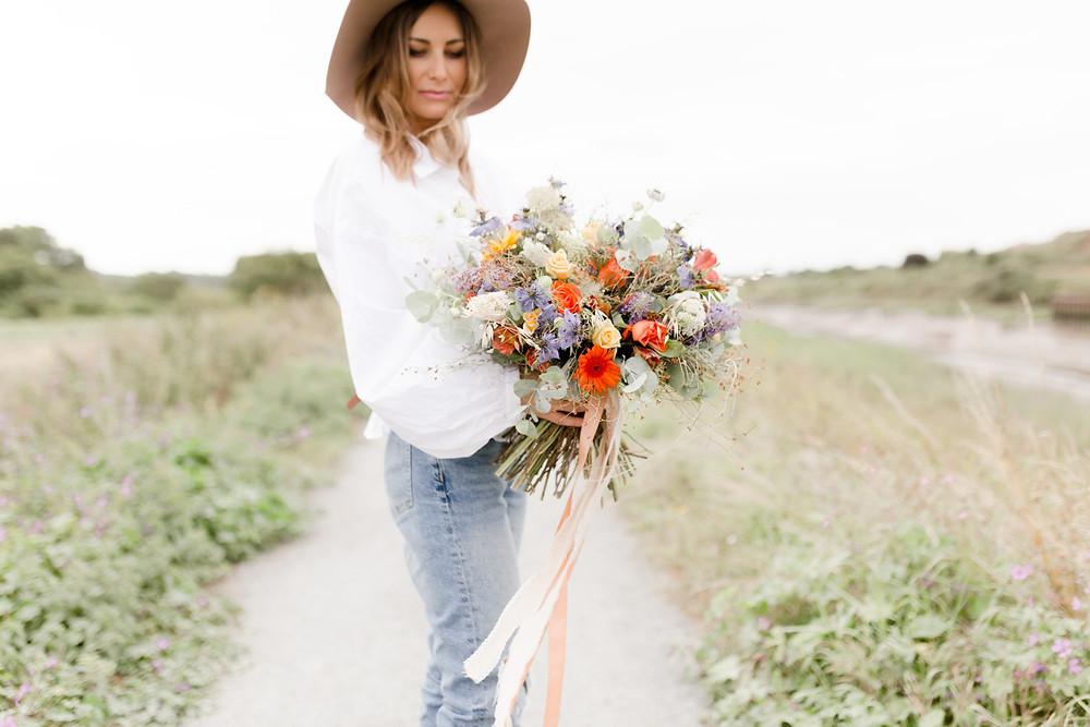 florist personal branding shoot essex colchester