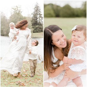 What to wear for an outdoor Spring/Summer session | Ivory White Photography