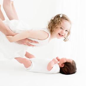 Studio newborn baby photo shoot | Colchester