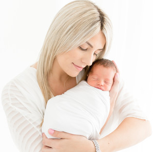 Sweetest newborn baby studio session | Essex