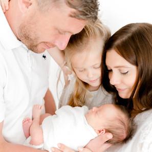 The cutest natural newborn session | Ivory White Studio | Essex