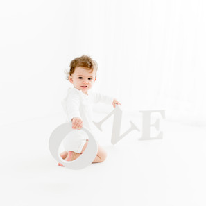 First year Milestone session | One Year Old