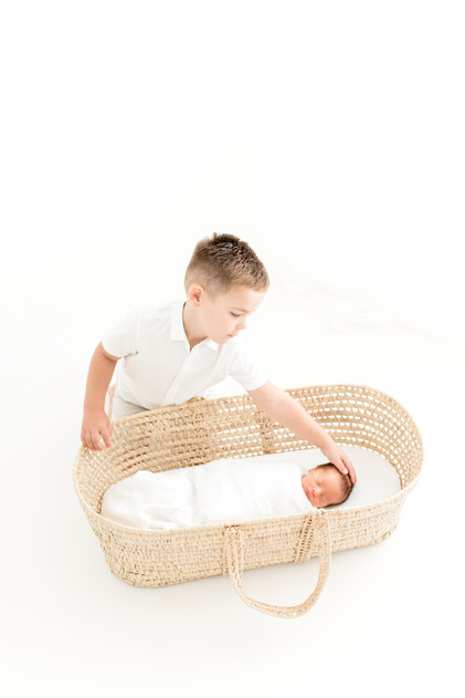 newborn baby photographer colchester essex with sibling