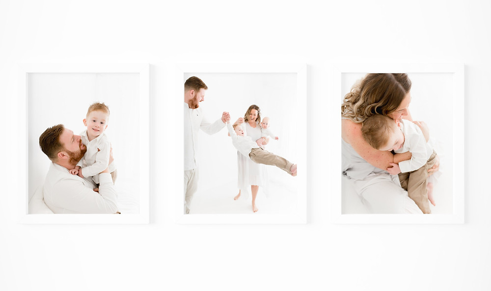 family photo session essex wall art white