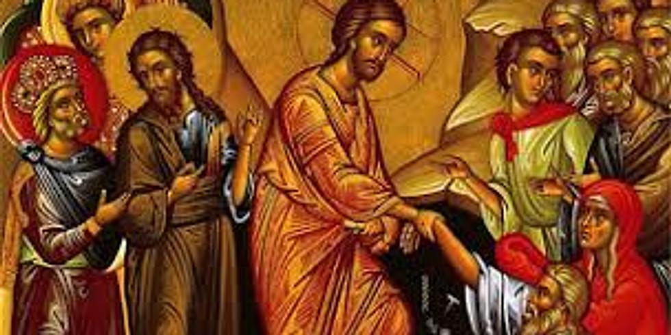 Saturday Lazarus Liturgy 04/24/2021