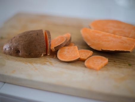 La patate douce #patatedouce #mangerequilibre