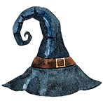 Puntige Witch Hat