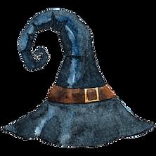 Puntiagudo sombrero de la bruja