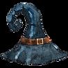 尖った魔女の帽子