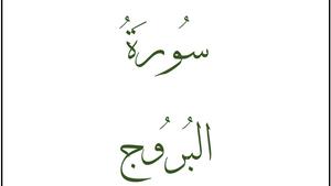 Сура «Аль-Бурудж»: наблюдения о композиционных особенностях