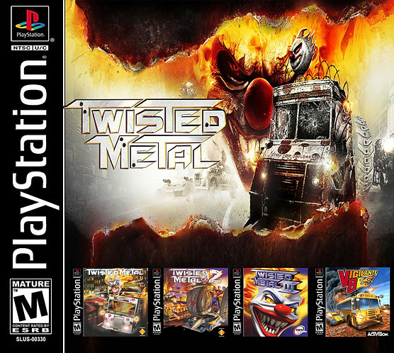 Twiste Metal collection - Repro - Ps1
