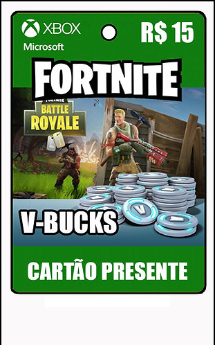 GIFT CARD - FORTNITE - CARTÃO PRESENTE  CASH R$15