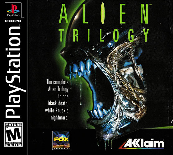 Alien trilogy- Repro ps1