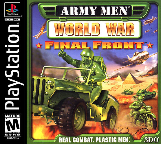 Army men World war - Repro - Ps1