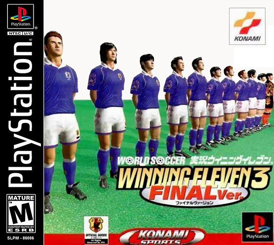 Wining eleven 3 ver final -Repro - Ps1