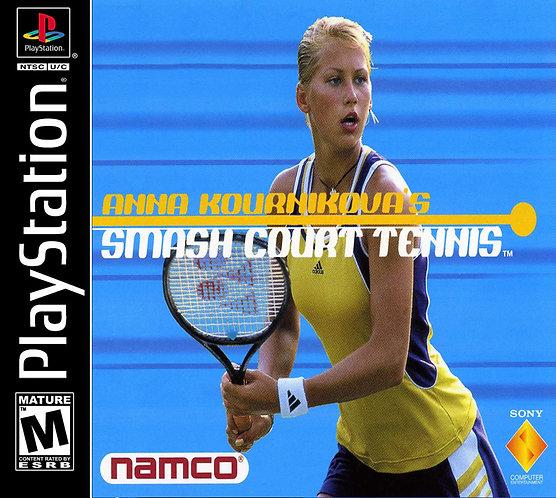 ANNA KOURNIKOVA'S SMASH COURT TENNIS - Repro -ps1