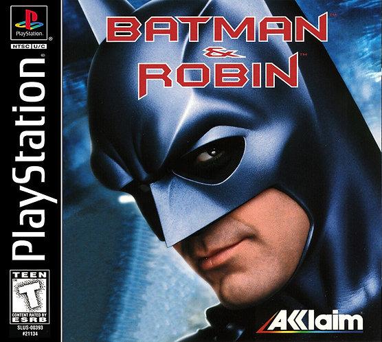 Batman e Robin- Repro - Ps1