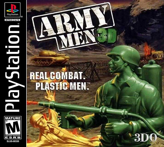 Army men 3d - Repro - Ps1