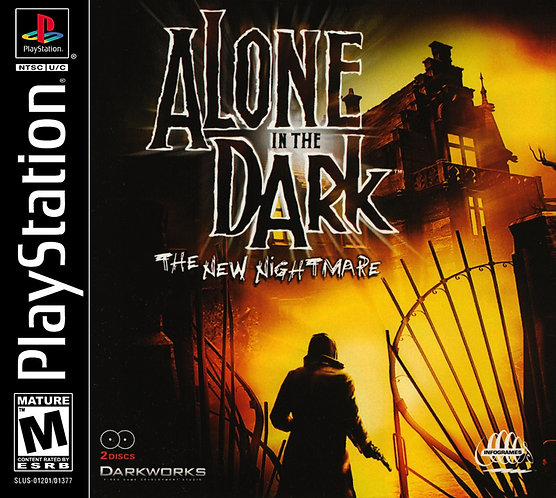 Alone in the dark - Repro - Ps1
