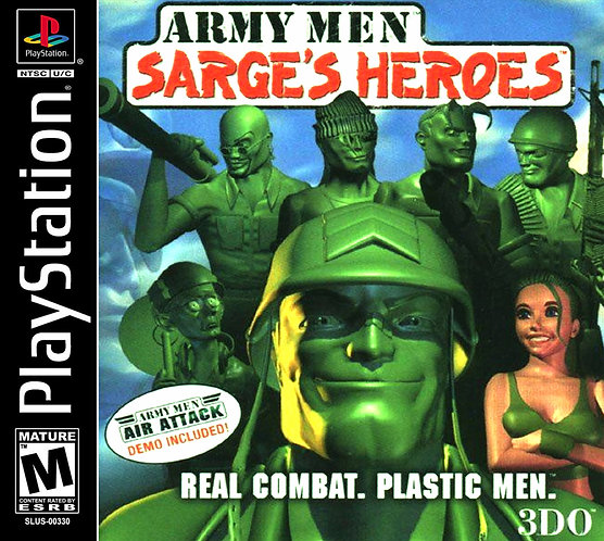 Army men Sarge's heroes - Repro - Ps1
