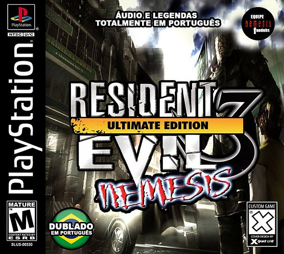 Resident evil 3 -Dublado -Repro - Ps1