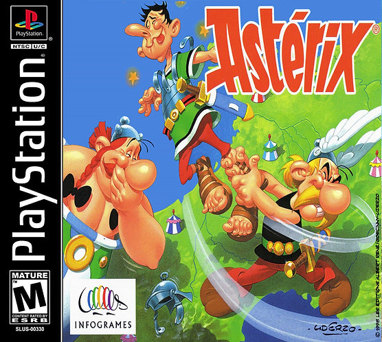 Asterix - Repro - Ps1