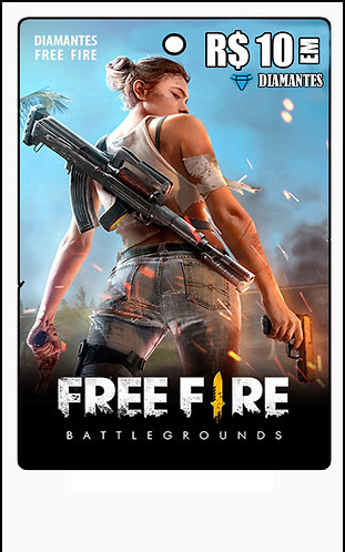 GIFT CARD - FREE FIRE R$10 em Diamantes