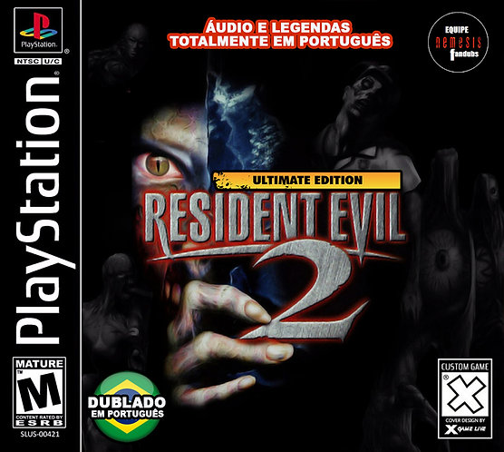 Resident evil 2 -Dublado - Repro PS1