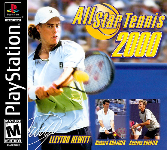 Allstar tennis 2000 - Repro -ps1