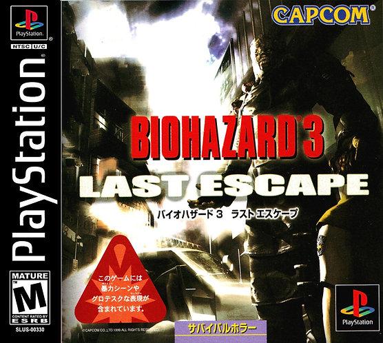 Bio Hazard 3 - Last escape- Ps1