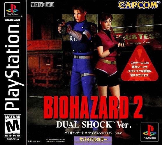 Bio Hazard 2- - Ps1