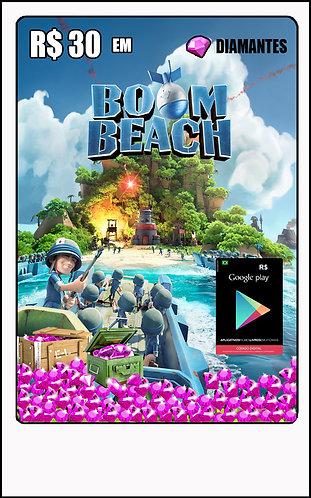 GIFT CARD - BOOM BEACH / GOOGLE PLAY R$30,00
