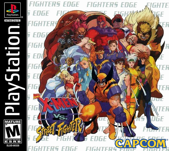 X-men vs street fighters -Repro - Ps1