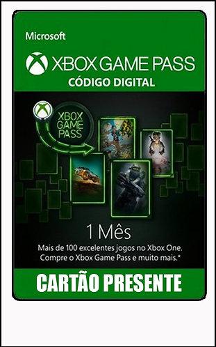 GIFT CARD - GAME PASS - 1 MÊS R$50