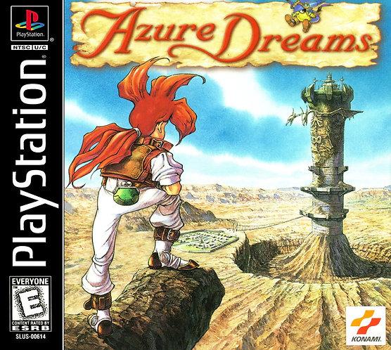 Azure Dreams- Repro - Ps1