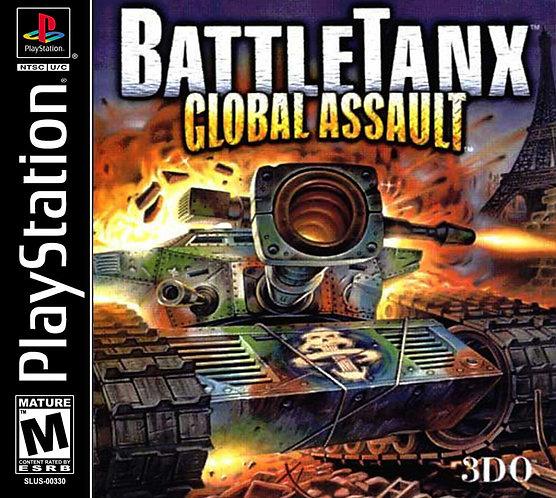 Battletanx global Assault- Ps1