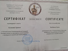 certificate Yesikova.jpg
