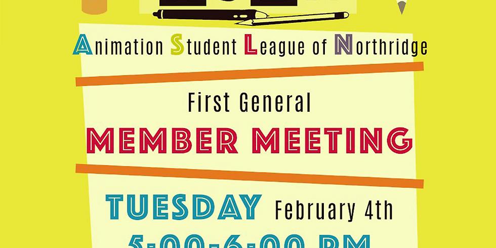 First General Member Meeting