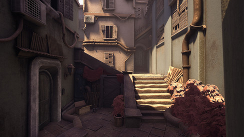 """""""Alley"""" Game Design by Tyler Thomas"""