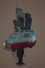 3D Model by Joshua Camit