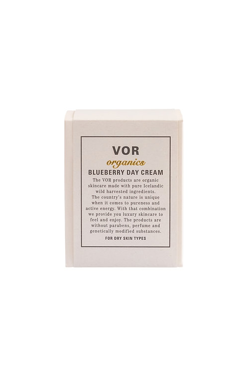 Blueberry day cream - dry skin - 50 ml