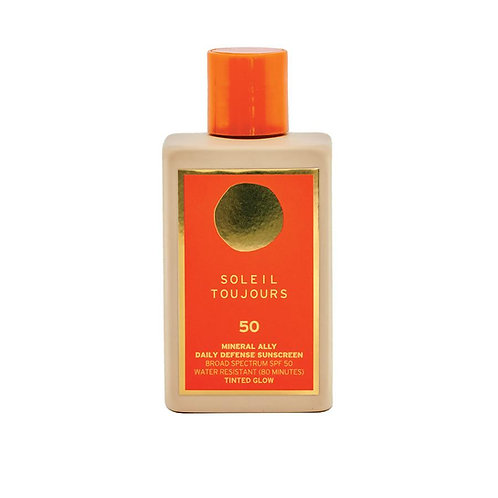 Mineral Ally Daily Defense SPF 50 Tinted Glow, 145 ml