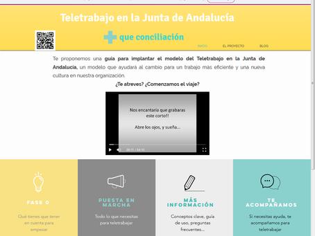 """El Proyecto """"Teletrabajo en la Junta de Andalucía: más que conciliación"""", se presenta a los Premios"""
