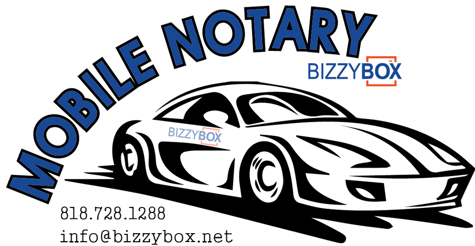 Mobile Notary Travel Fee