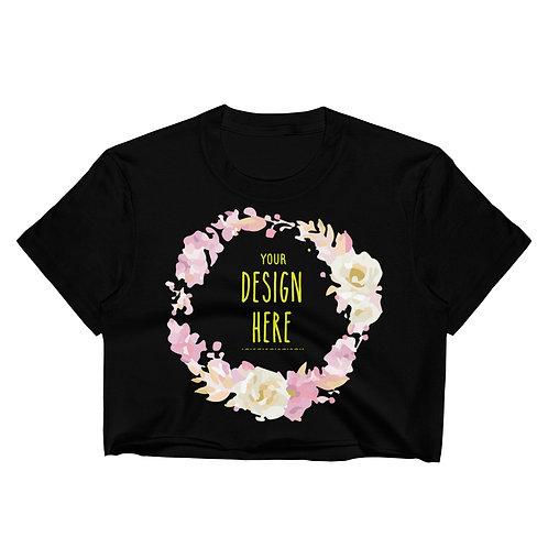 Women's Crop Top Custom Full Printing