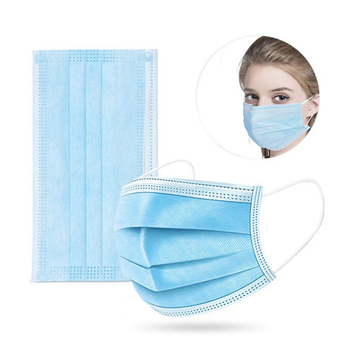Disposable 3Ply Face Masks